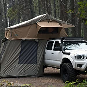 Tuff Stuff Ranger Overland Roof top Tent with Annex Room
