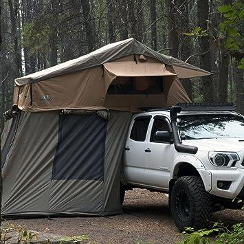 Tuff Stuff Overland azotea tienda de camping con Annex room- Black – Funda para Conducción: Amazon.es: Deportes y aire libre