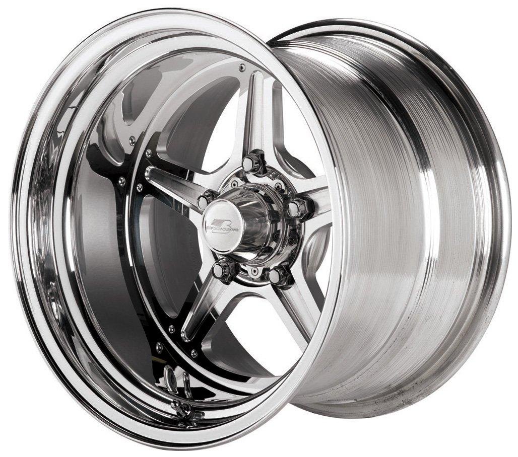 Billet Specialties Street Lite Polished - 15 x 10 Inch Wheel by Billet Specialties (Image #1)