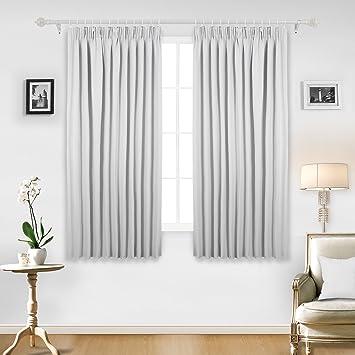 Vorhänge Zum Verdunkeln amazon de deconovo blickdichte gardinen vorhang verdunkelung