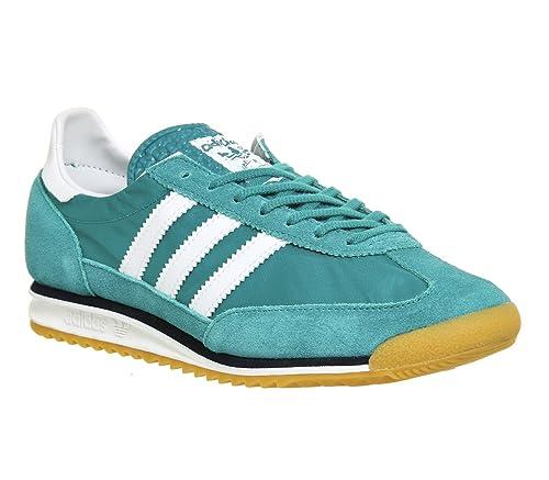 adidas SL 72, Zapatillas de Deporte para Hombre, Verde/Blanco/Azul Marino (Eqtver/Ftwbla/Maruni), 44 2/3 EU: Amazon.es: Zapatos y complementos