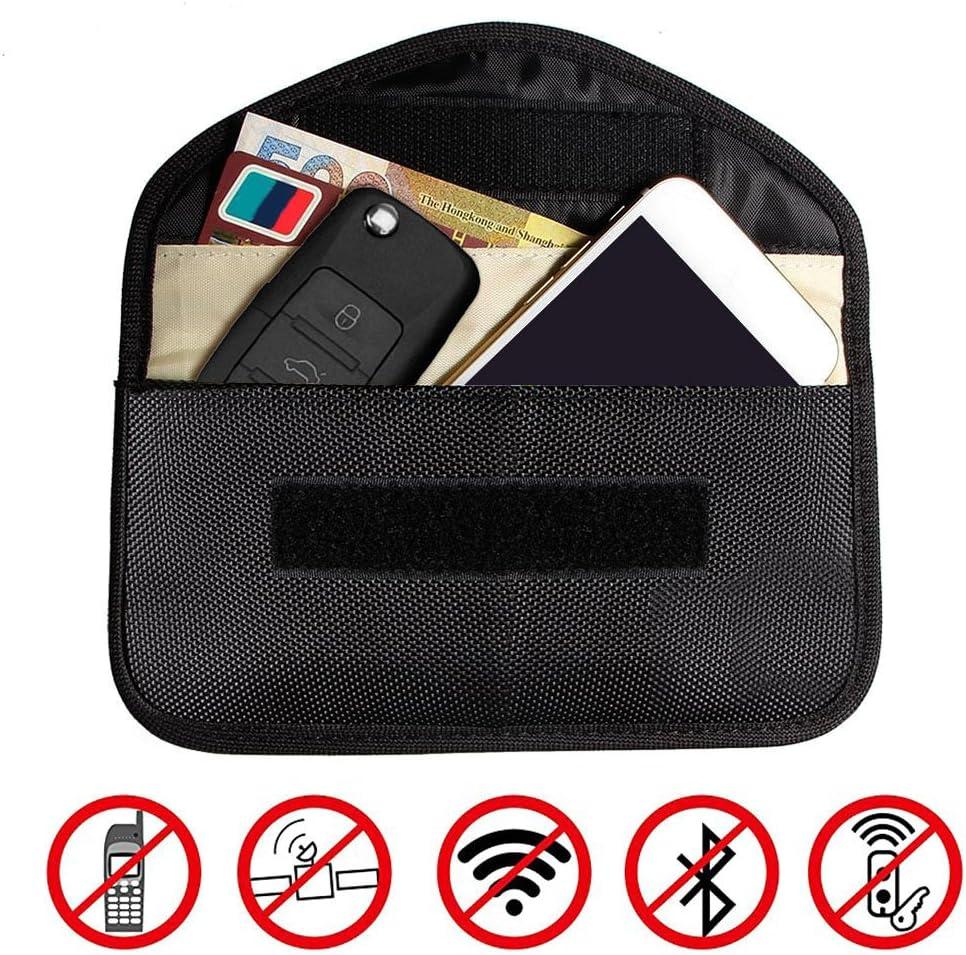 WarmCare RFID Key Fob Signal Blocking Bag Protector Signal Guard Blocker Shielding Pouch Case keyless Entry System Anti-Theft Lock Devices for Car Key