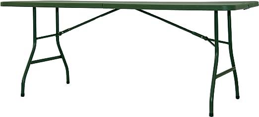 Newstorm Half 180 Mesa Plegable, Verde, 182.9x75x74.3 cm: Amazon ...