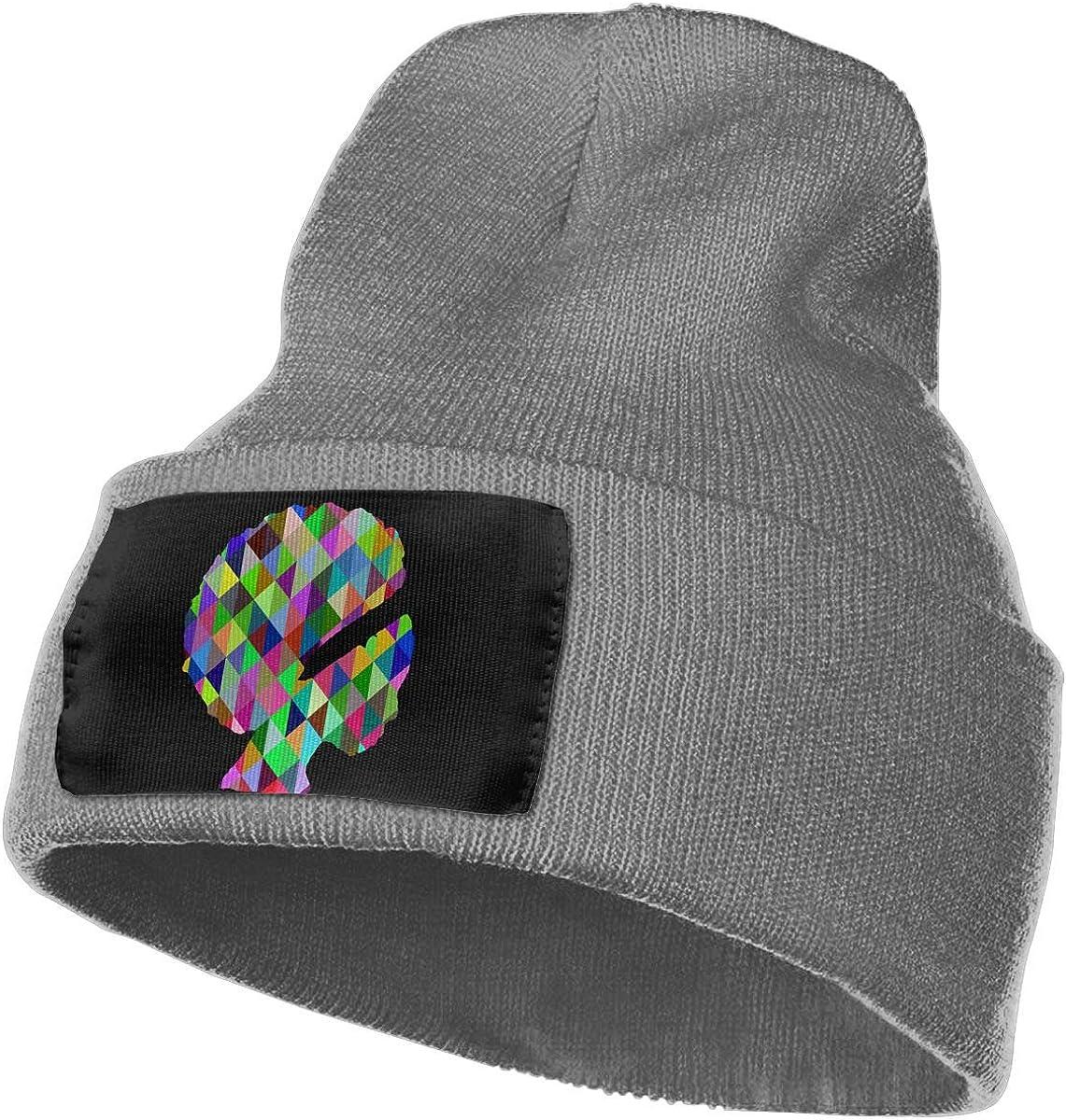 SLADDD1 Prismatic Color Warm Winter Hat Knit Beanie Skull Cap Cuff Beanie Hat Winter Hats for Men /& Women