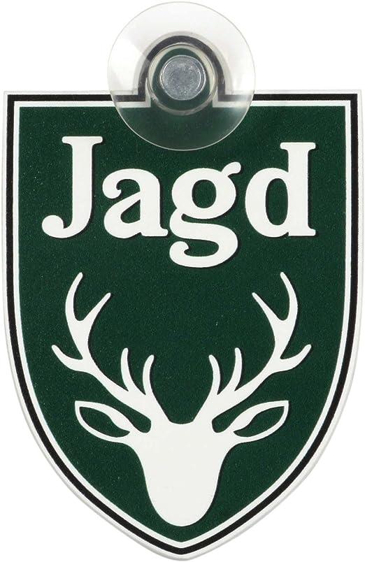 Schild Autoschild Jagd Mit Saugnapf 1 1mm Wetterfestes Material 75 X 100 Mm Groß Von Innen Oder Außen Green Baumarkt