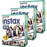 Fujifilm Instax Wide Instant 60 Film for Fuji Instax Wide 210 200 100 300 Instant Photo Camera
