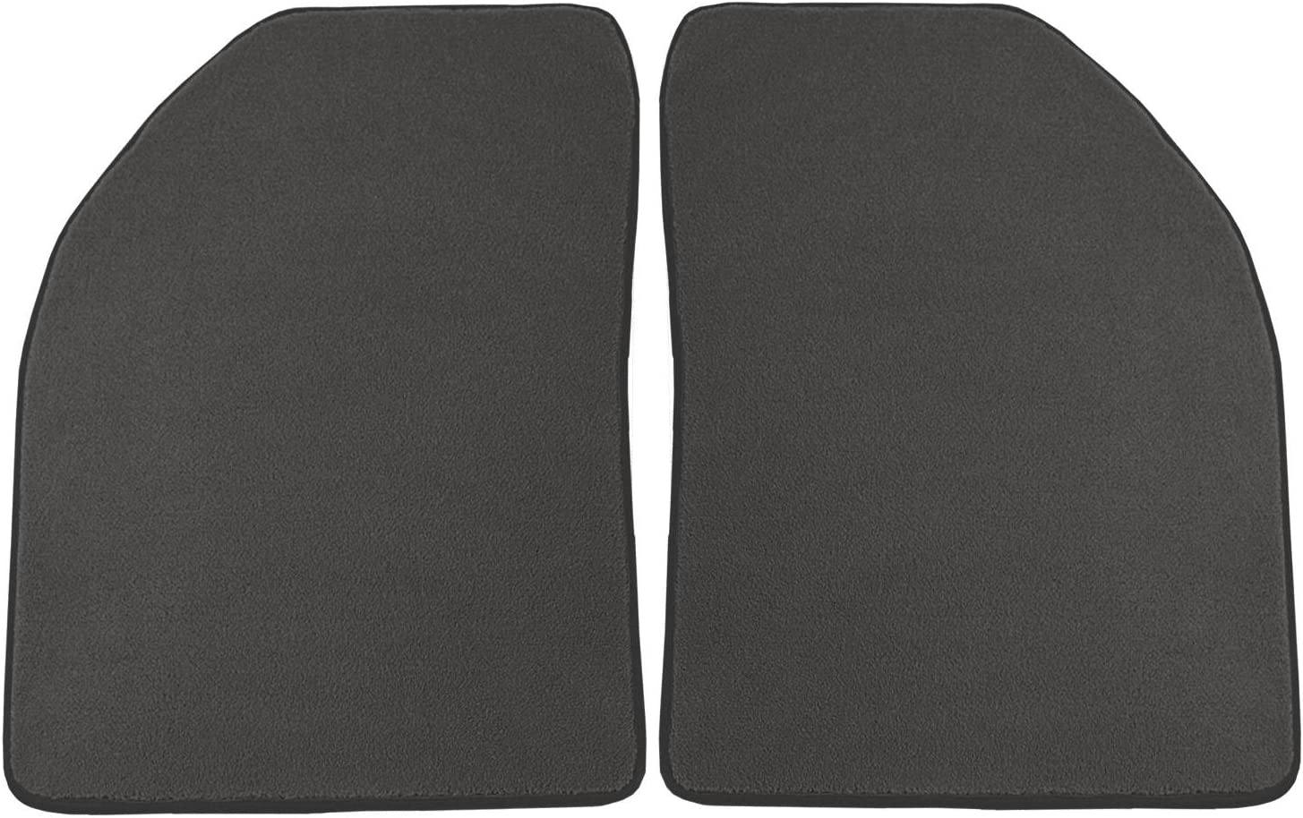 Coverking Custom Fit Rear Floor Mats for Select Toyota 4Runner Models Black Nylon Carpet