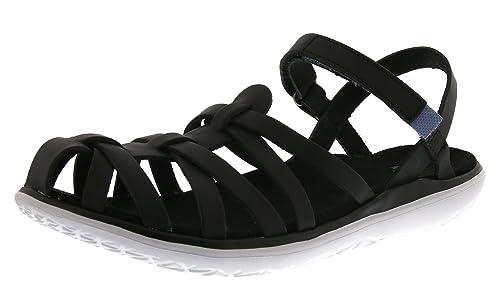 TevaAvalina Crossover Leather W's - Sandali da Atletica Donna, Nero (Schwarz (Black 513)), 40 EU