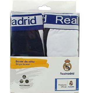 364f30c6e5d1d Boxer Infantil - Real Madrid - Producto Oficial - Set 2 Pares - RM602N