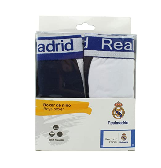 Boxer Infantil - Real Madrid - Producto Oficial - Set 2 Pares - RM602N (6