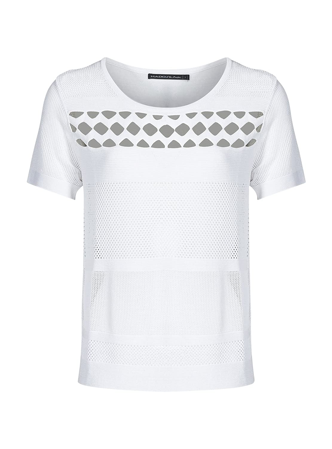 MADO ET LES AUTRES Knitted Polyamide Viscose t-Shirt Summer Collection Women