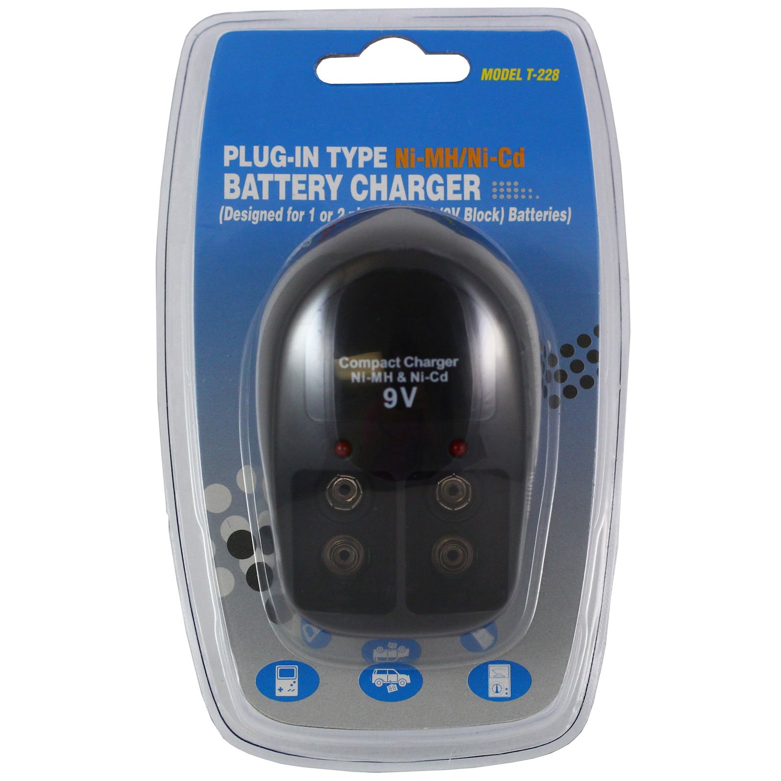 UNIVERSAL BATTERY C7956 Dual Port Charger