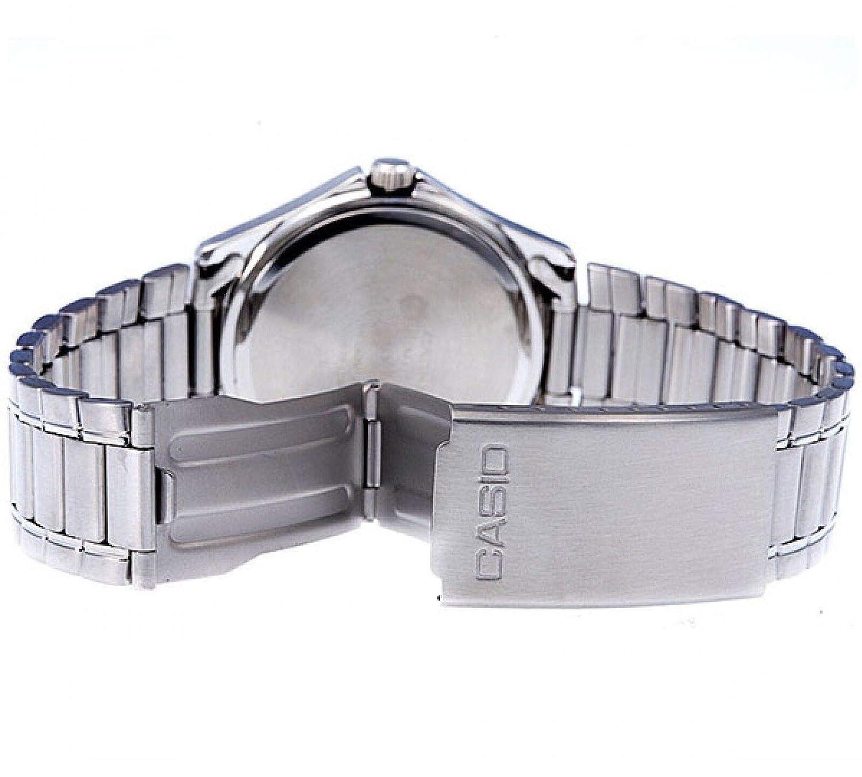 07ed96886ac2 Casio Reloj Analógico para Hombre de Cuarzo con Correa en Acero Inoxidable  MTP-1183PA-7AEF  Amazon.es  Relojes
