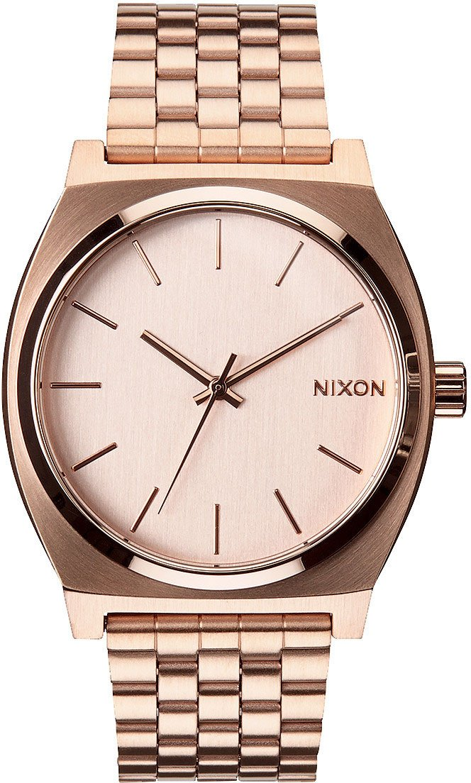 Nixon A045897 Time Teller A045. 100m Water Resistant Women's Watch (37mm Band. Stainless Steel Watch Face) by NIXON