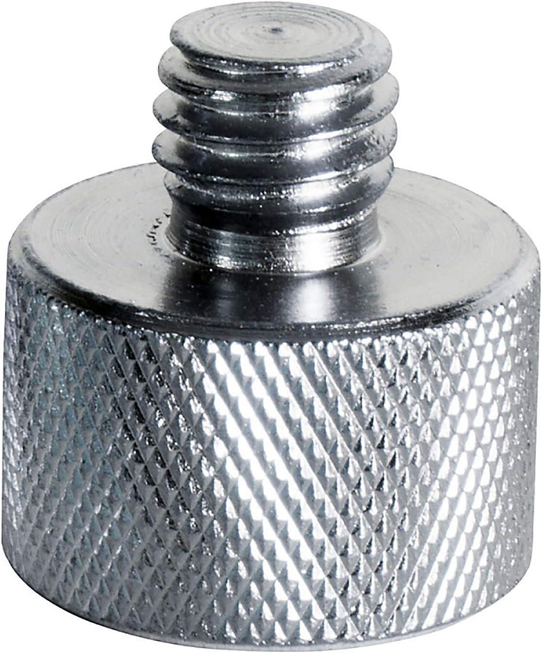 Premium/Mic Thread Screw Adapter 1//4 Male to 1//4 Male and 1//4 Male to 3//8 Male Microphone to Tripod Adapter Microphone Screw Converter Adapter,6 Pack