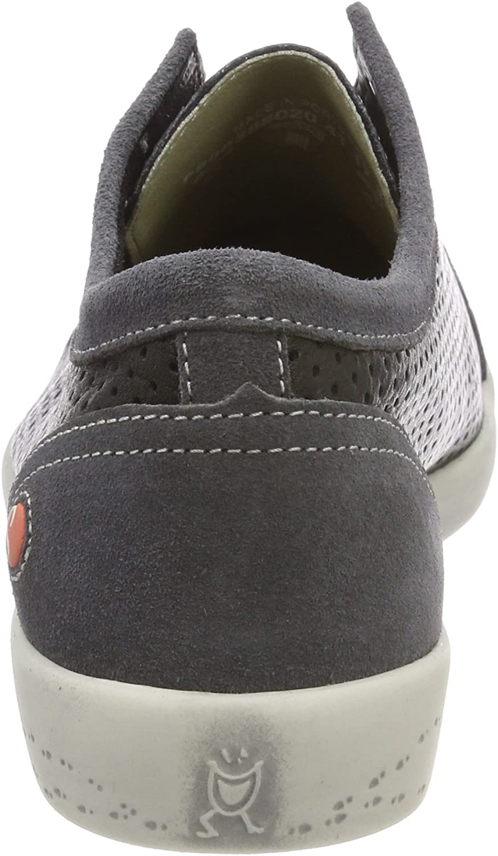 Softinos Women's Low-Top Sneakers Black Black Dk Grey