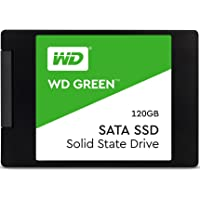 "Western Digital 120GB Green 2.5"" Internal Solid State Drive SATA Model WDS120G2G0A"