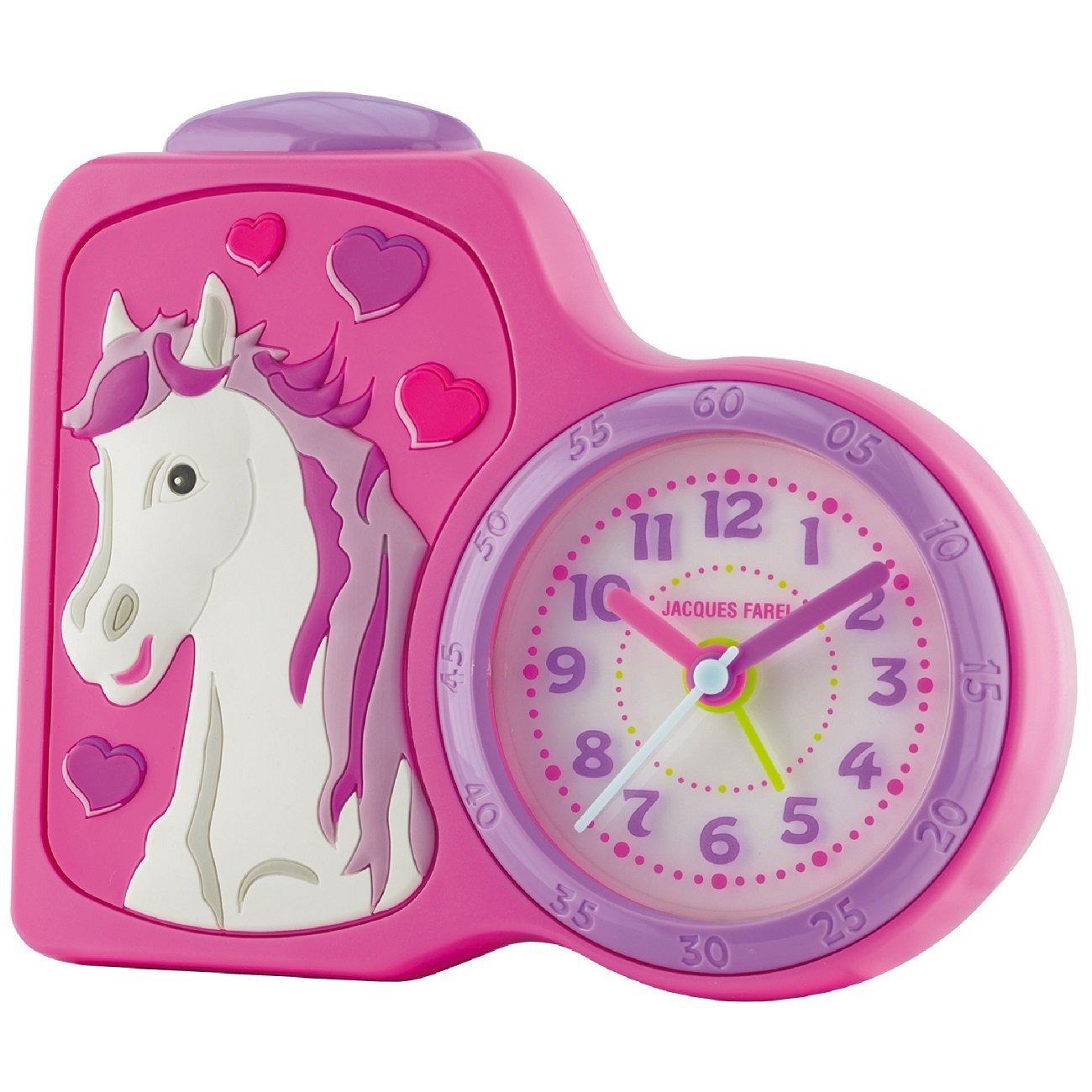 Jacques Farel ACB717 Childrens Horse Alarm Clock Jacques Farel Alarm Clocks ACB717HS