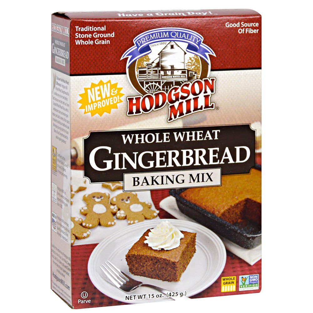 Hodgson Mill Whole Wheat Gingerbread Mix, 15-Ounce Units (Pack of 6) by Hodgson Mill
