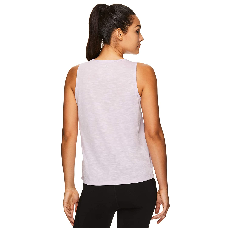 Gaiam Womens Muscle Tank Top Sleeveless Racerback Workout /& Yoga Shirt