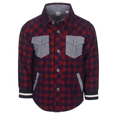 new concept b333d 98e8a Timberland Camicia Rossa T05G69-986: Amazon.it: Abbigliamento