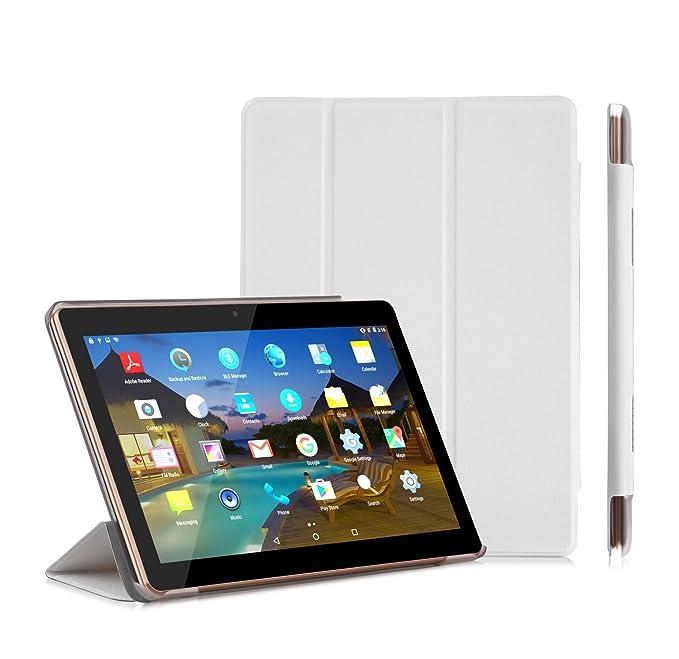 150 opinioni per Tablet Touch 10.1 pollici lnmbbs – Android 5.1, Quad Core, 3 G Dual SIM, doppia