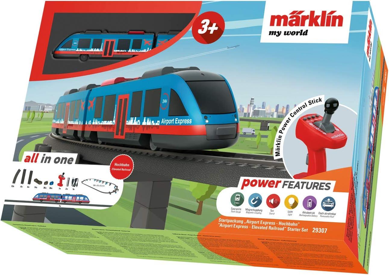 Märklin my World Airport Express-Kit de iniciación de Tren, Color Escala h0. (29307)