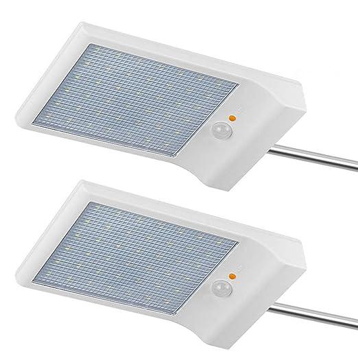 Lumiere Solaire 42 Leds Lampe Murale Avec Lampe Solaire Exterieure