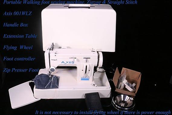 Amazon Portable Upholstery Sewing Machine Zig Zag Straight Amazing Handheld Sewing Machine For Canvas