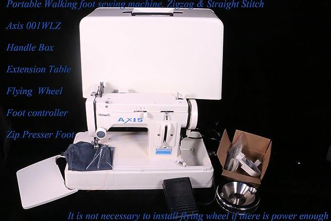 Amazon Portable Upholstery Sewing Machine Zig Zag Straight Inspiration Portable Tarp Sewing Machine