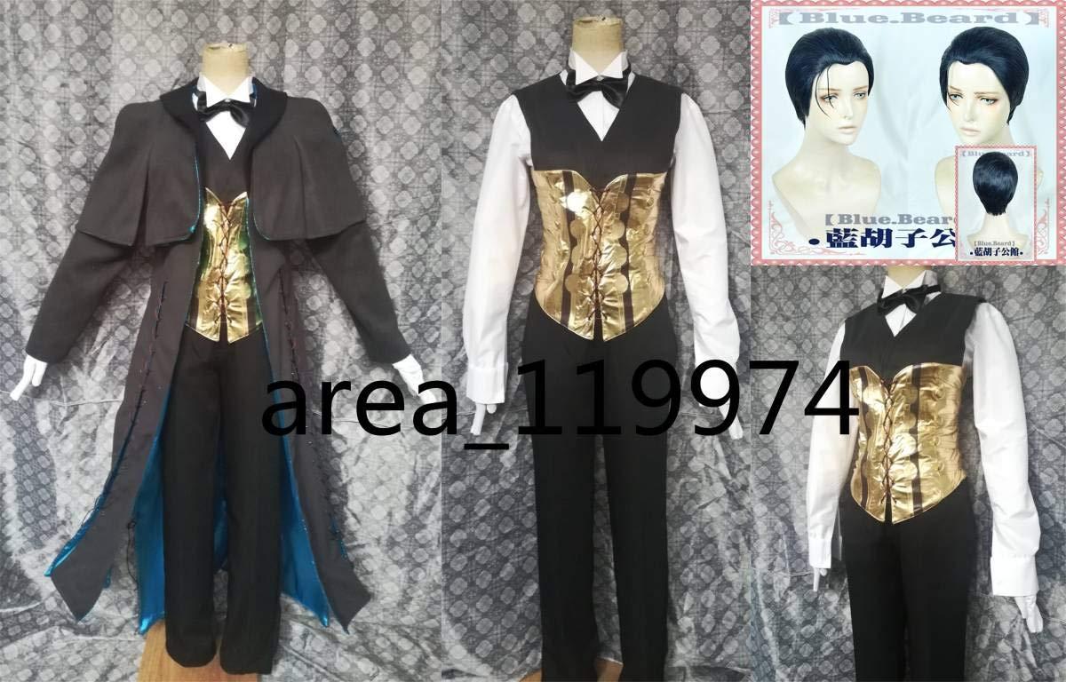 Fate/Grand Order(フェイトグランドオーダーFGOFate コスプレ衣装+ go)シャーロックホームズ B07K2WK6JK コスプレ衣装+ Fate/Grand ウィッグ B07K2WK6JK, 国産品:bd232bac --- ferraridentalclinic.com.lb
