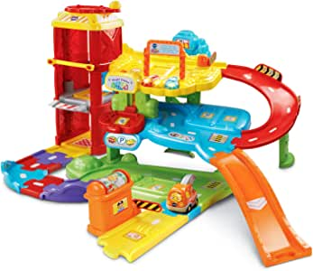 VTech Go! Go! Smart Wheels Park and Learn Deluxe Garage (Frustration Free Packaging), Multicolor