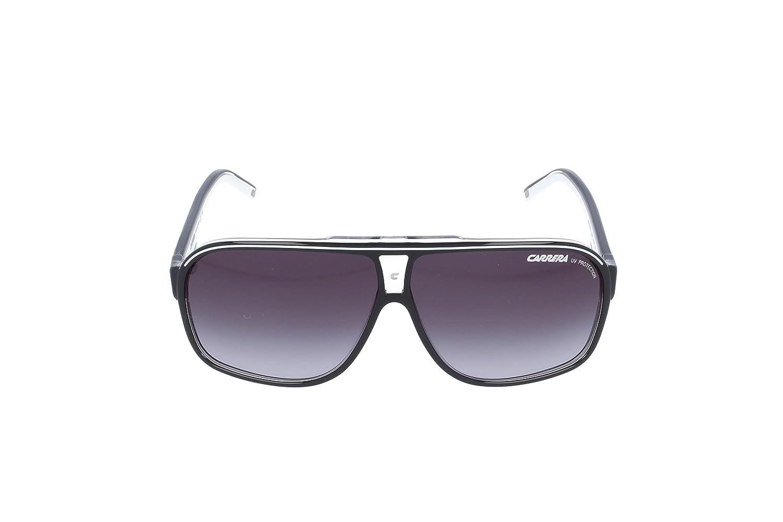 6efa43f3e03 Amazon.com  Carrera Grand Prix 2 T4M Black White Grand Prix 2 Pilot  Sunglasses Lens Categ  Carrera  Clothing