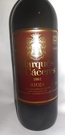 Marqués de Cáceres 1981