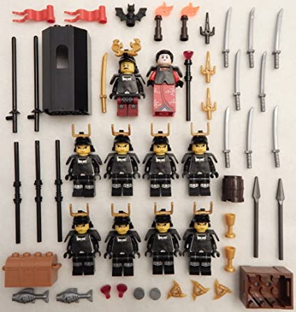 Amazon.com: 10 NEW LEGO SAMURAI WARRIOR MINIFIG LOT figures ...