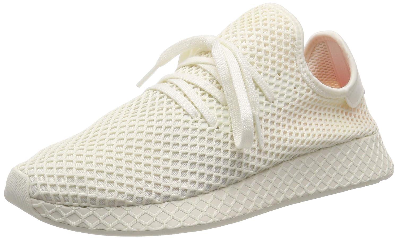 c7988df0 adidas Mens Deerupt Runner Mesh Off White Trainers 9.5 US