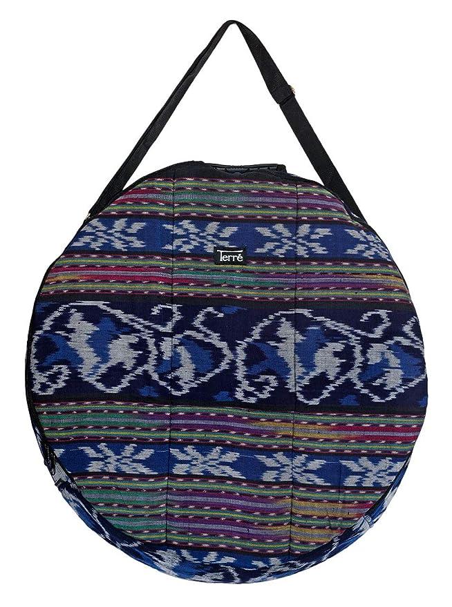 Shamandrum Tasche aus Ikat Ø 60 cm Schamanentrommel Rund Ritual Drum Trageriemen