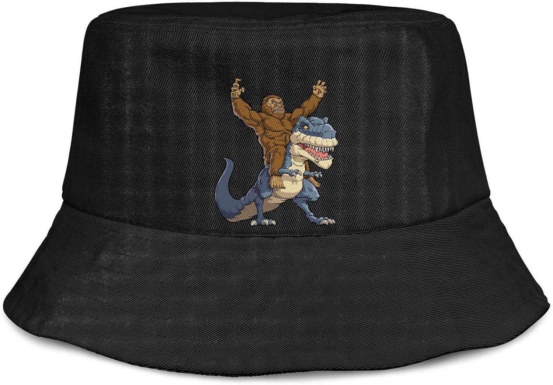 Childrens T-Rex Dinosaur Summer Bucket Sun Hat
