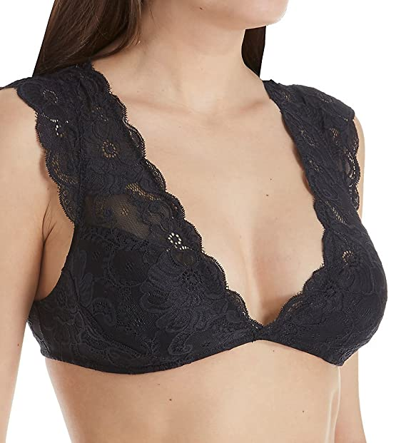 d35a94b925008 Classic Plus Size Soft Cap Sleeve Textured Lace Bra Bralette 16 18. Roll  over image to zoom in. Oh la la Cheri
