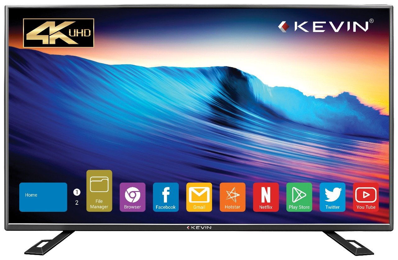 Kevin 140 cm (55 inches) 4K Ultra HD Smart LED TV