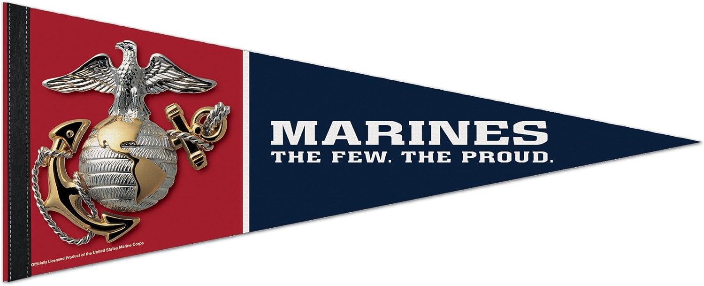 Marines 12x30 Felt Pennant
