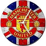 MasTazas Manchester United B Wall Clock 20cm