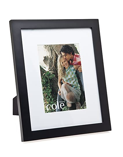 Amazon.com - 4x6 Matted Black Wood Picture Frame - Single Frames