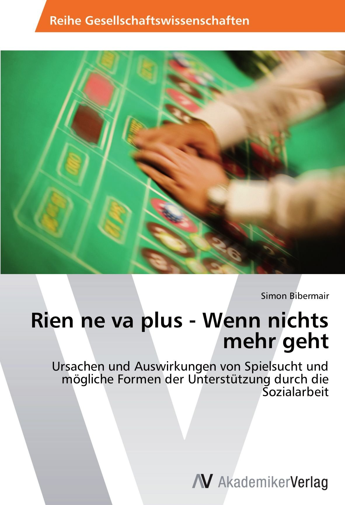 Rien ne va plus - Wenn nichts mehr geht: Ursachen und Auswirkungen von Spielsucht und mögliche Formen der Unterstützung durch die Sozialarbeit (German Edition) ebook