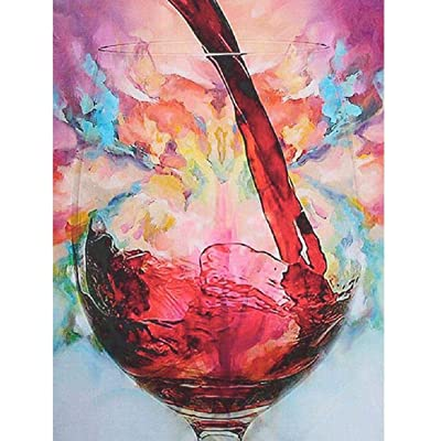 BJBJBJ 1000 Pieces of Wooden Puzzles Puzzle Adult Jigsaw Wooden Jigsaw Pieces Glass Wine Art Leisure Game Toy Home Decoration: Toys & Games