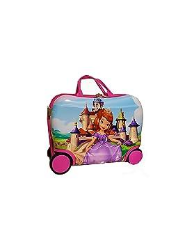 Maletas De Viaje Infantil Princesa Sofia My Little Pony Prinsess Rosa Niña Equipaje Mas Mochila (sofia): Amazon.es: Equipaje