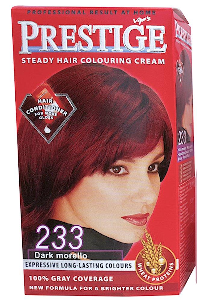 Vips Prestige Cream Hair Dye Icing 233 Red Amazon Beauty