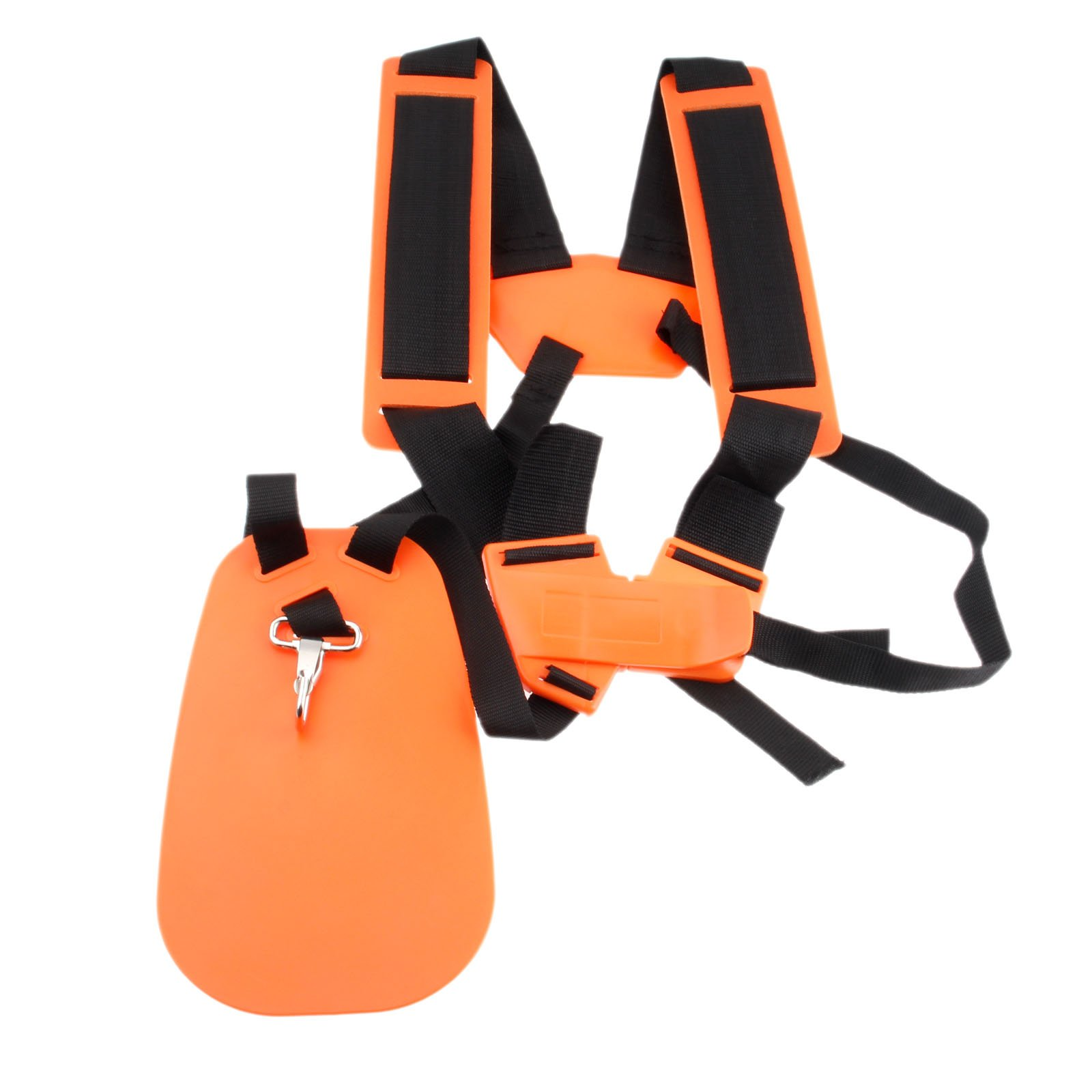 1pc Orange Double Shoulder Harness Strap for Strimmers Brush Cutter Power Pruner