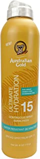 product image for Australian Gold Continuous Spray Sunscreen SPF 15, 6 Ounce | Dries Fast | Broad Spectrum | Water Resistant | Non-Greasy | Oxybenzone Free | Cruelty Free