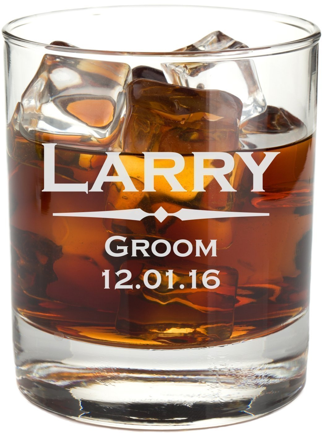 Personalized Whiskey Glass with Custom Engraving - RG01